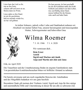 Wilma Roemer