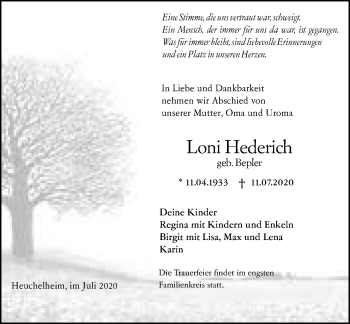 Loni Hederich